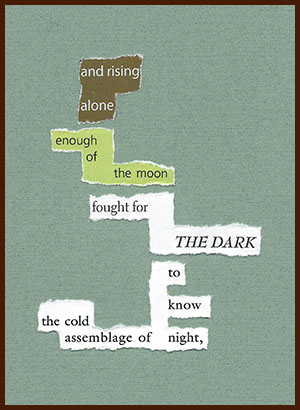 found poem © j.i. kleinberg ~ and rising