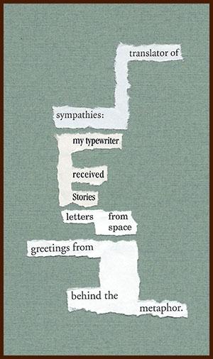 found poem © j.i. kleinberg ~ translator