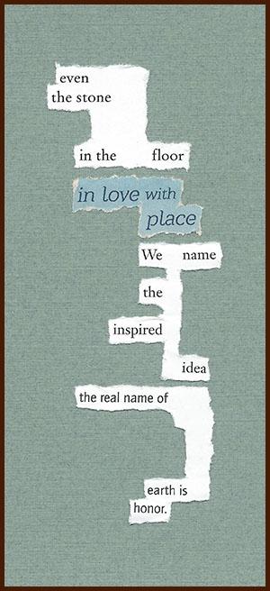 found poem © j.i. kleinberg ~ even the stone