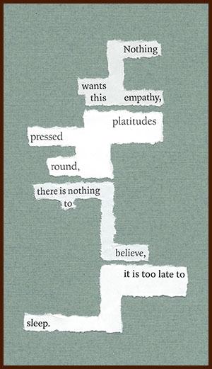 found poem © j.i. kleinberg ~ Nothing