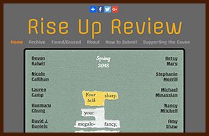 Rise Up Review cover