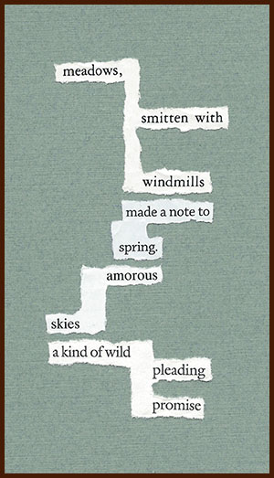 found poem © j.i. kleinberg ~ meadows