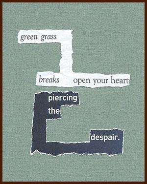 found poem © j.i. kleinberg ~ green