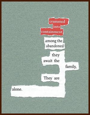 found poem © j.i. kleinberg ~ crammed