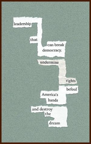 found poem © j.i. kleinberg ~ leadership