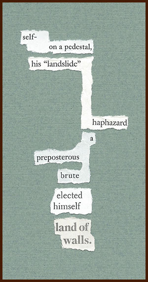 found poem © j.i. kleinberg ~ self