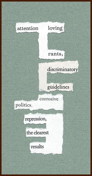 found poem © j.i. kleinberg ~ attention