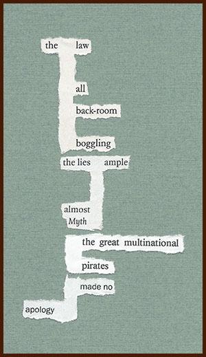 found poem © j.i. kleinberg ~ the law