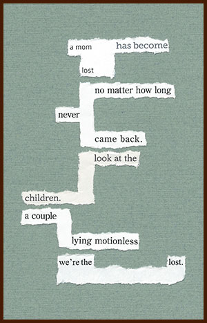 found poem © j.i. kleinberg ~ a mom