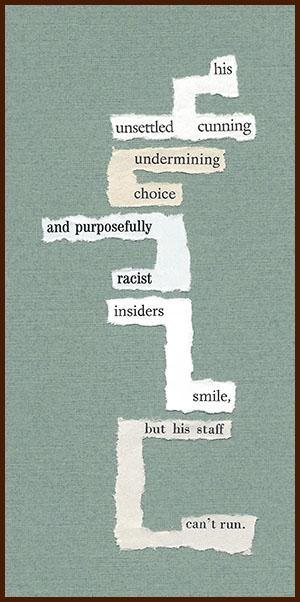found poem © j.i. kleinberg ~ his unsettled