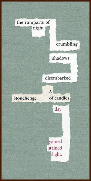 found poem © j.i. kleinberg ~ the ramparts