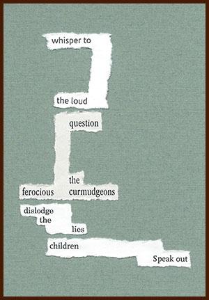found poem © j.i. kleinberg ~ whisper