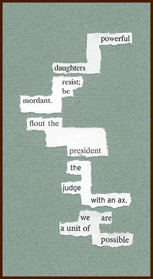 found poem © j.i. kleinberg ~ powerful