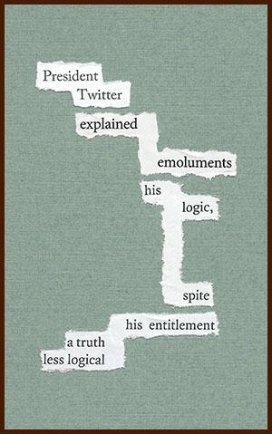 found poem © j.i. kleinberg ~ President