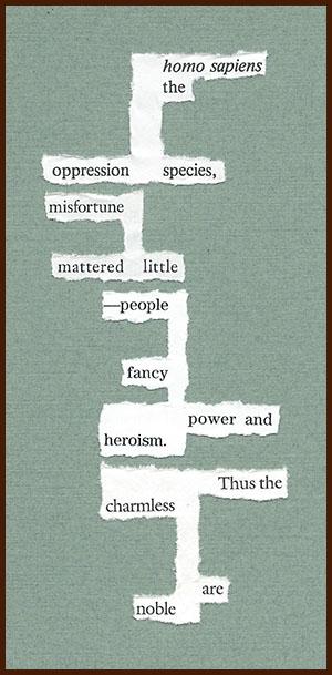 found poem © j.i. kleinberg ~ homo sapiens