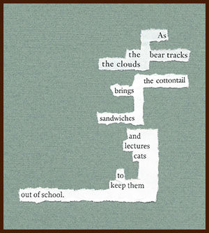 found poem © j.i. kleinberg ~ As the bear