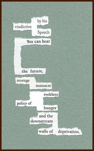 found poem © j.i. kleinberg ~ by his