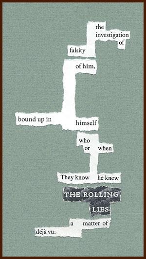 found poem © j.i. kleinberg ~ the investigation