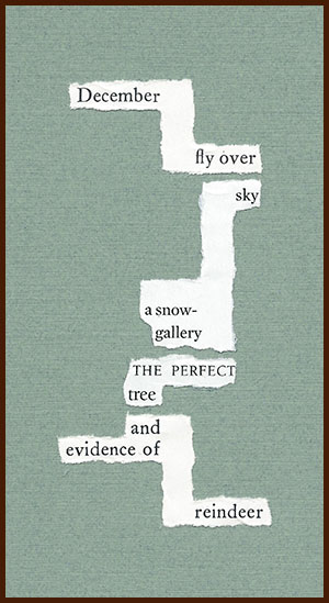 found poem © j.i. kleinberg ~ December