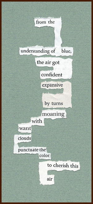 found poem © j.i. kleinberg ~ from the understanding