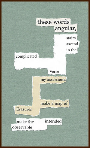 found poem © j.i. kleinberg ~ these words
