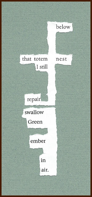 found poem © j.i. kleinberg ~ below