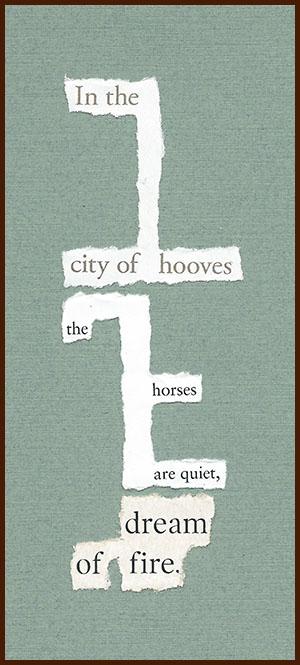found poem © j.i. kleinberg ~ In the city