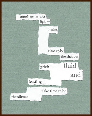 found poem © j.i. kleinberg ~ stand up