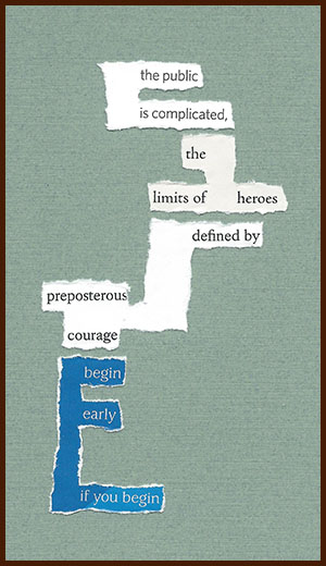found poem © j.i. kleinberg ~ the public