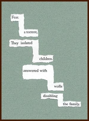 found poem © j.i. kleinberg ~ fear