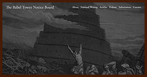 home page image of The Confusion of Tongues by Gustave Doré